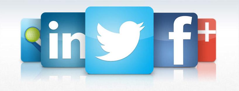 آیکون شبکه های اجتماعی در وردپرس
