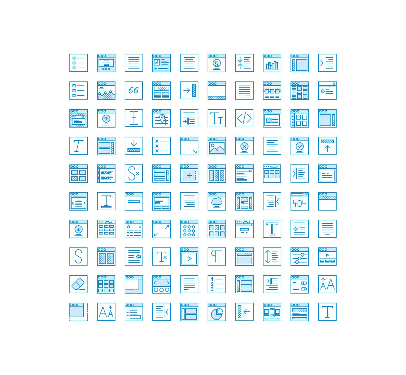 مجموعه آیکون رابط کاربری User Interface Icon Pack