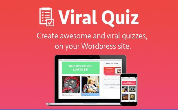 افزونه آزمون ساز وردپرس ویرال کوئیز WordPress Viral Quiz