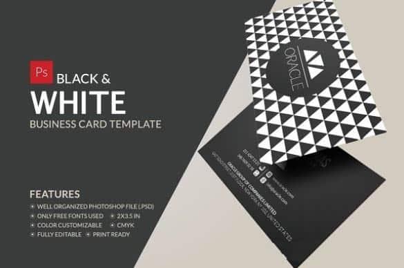طرح لایه باز کارت ویزیت (شماره 10)