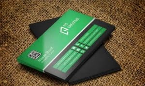 طرح لایه باز کارت ویزیت Business Card (شماره 14)